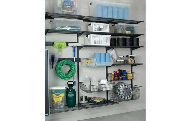 freedomRail Garage Shelves