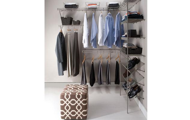 Lifetime Ventilated Nickel Closet