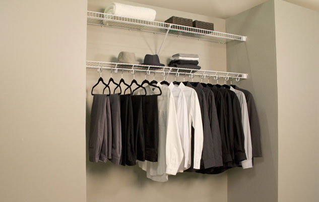 Lifetime Ventilated Open Slide Reach In White Closet