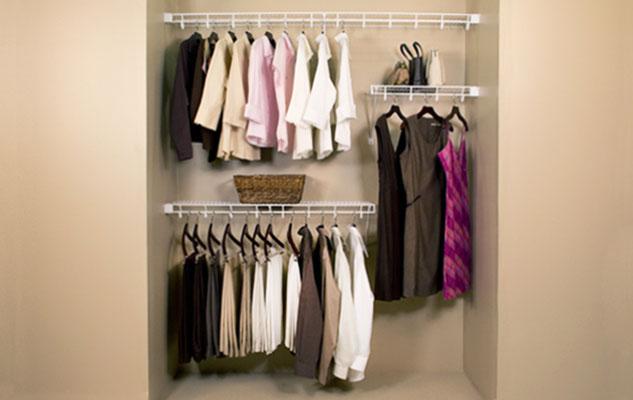 White Lifetime Venilated Shelving Closet