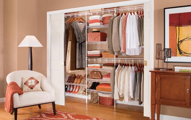 Lifetime Ventilated Reach-in White Closet