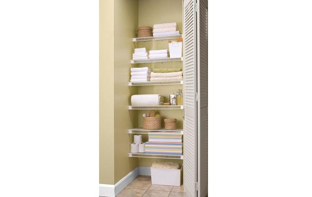 Lifetime Ventilated Tight Mesh Storage Shelving Linen Closet