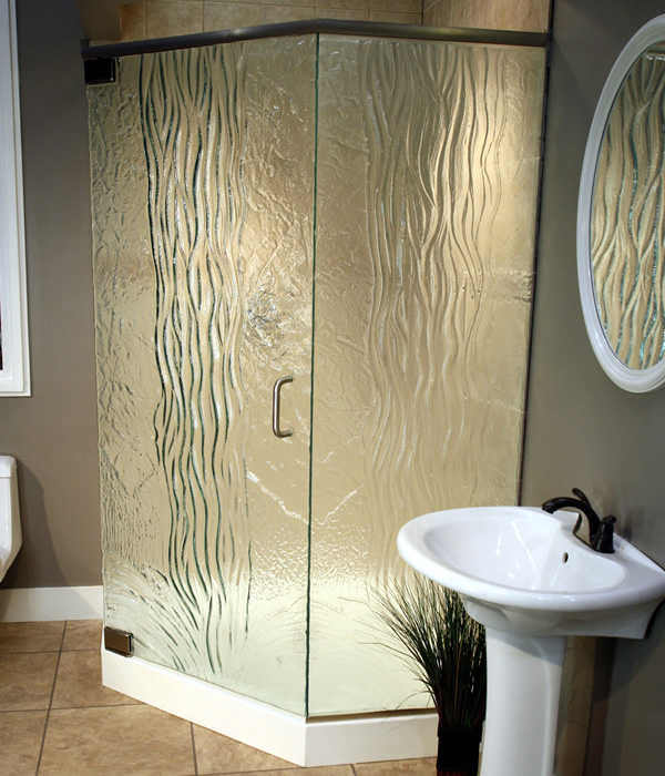 Cast Glass Enclosures Waterfall