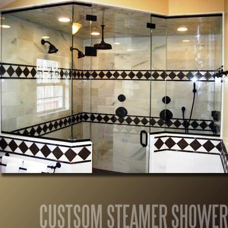 Custom Steamer Shower