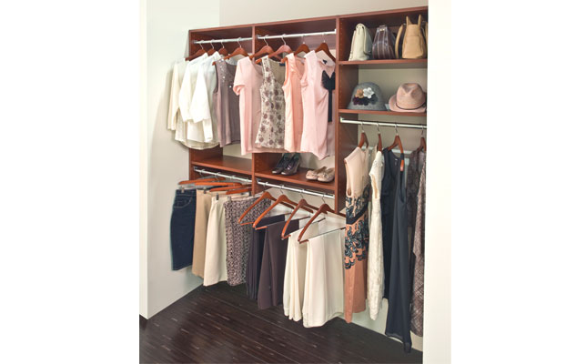 Classica Modern Cherry Reach-in Closet