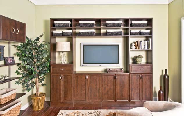 Classica Chocolate Pear Entertainment Center