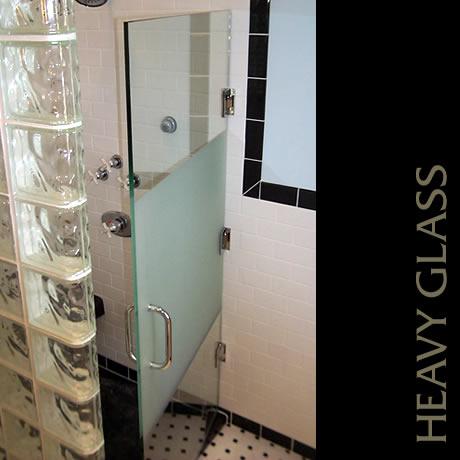 Heavy Glass Shower